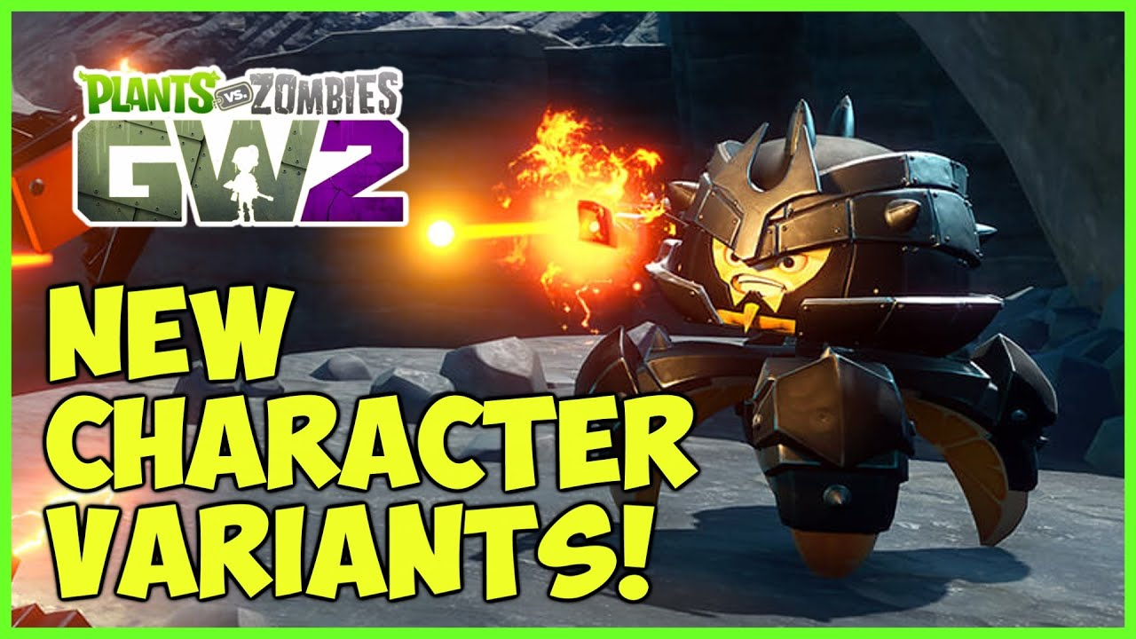 Citron from plants vs zombies garden warfare 2 plants vs zombies - Plants Vs Zombies Garden Warfare 2 New Variants Disco Chomper Ice Engineer Rock Pea More