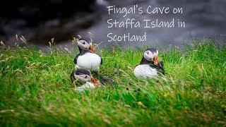 Gambar cover Fingal's Cave on Staffa Island in Scotland (Puffins Galore)