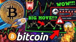 BITCOIN SIGNAL CALLED EVERY BOTTOM!! FLASHING GREEN NOW!! 14,922 BTC WHALE MOVE!!!