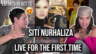 LATINOS react to Siti Nurhaliza - AMAZING Medley Lagu Cinta (Live) 😍🤯