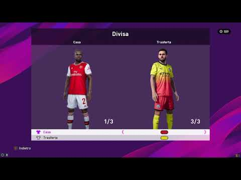 Installazione PES 2020 - OptionFile PC 1.2 By Gamenations