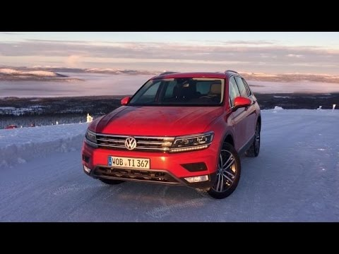 2017 Volkswagen Tiguan in Sweden | On Location