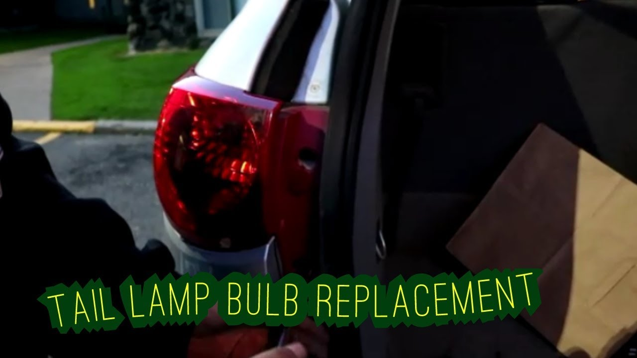 2009 And Up Chevrolet Traverse Brake  Turn Signal Bulb