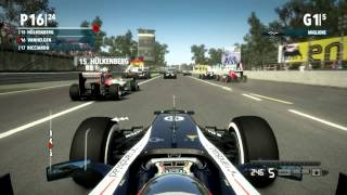 F1 2012 Gameplay Ita PC Demo - Di nuovo in pista-