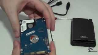 Recycler un vieux disque en disque dur externe USB 3
