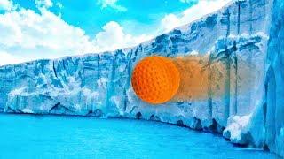 ICE WALLRIDE! - GOLF IT