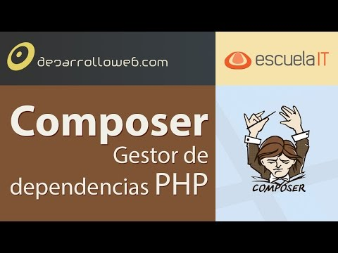 Composer, gestor de dependencias PHP