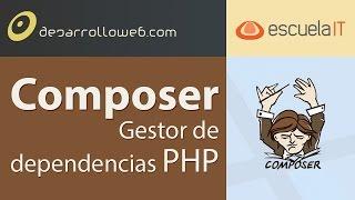 Composer, gestor de dependencias PHP