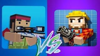 Block Strike (4.0.6) vs. Pixel Gun 3D (12.0.1)