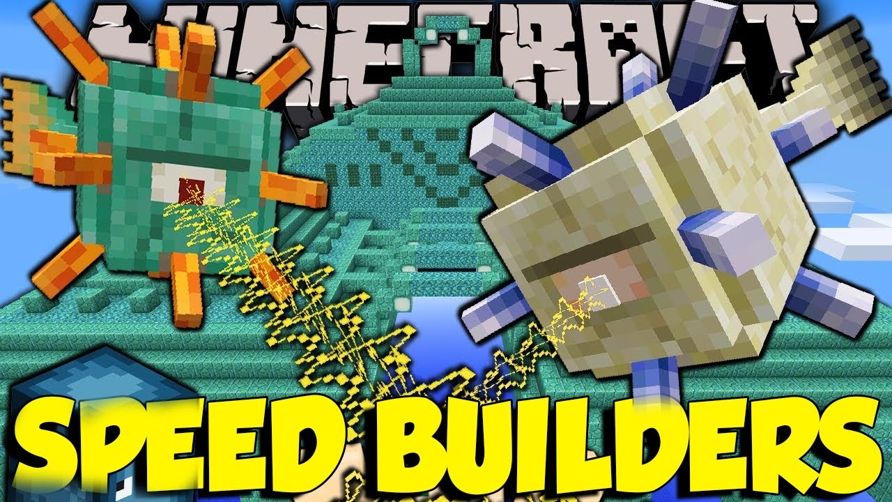 Minecraft: Speed Builders - Esperti COSTRUTTORI- w/Luck