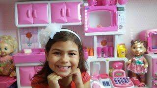 MEGA cozinha de Brinquedo :)