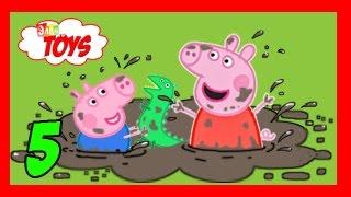 Свинка Пеппа. Купаемся в Грязи. Peppa Pig
