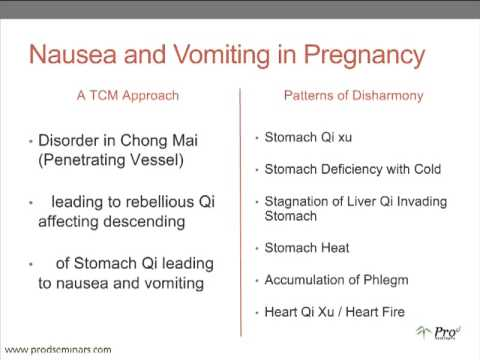 Sarah Budd's Treating Nausea and Vomiting in Pregnancy ...