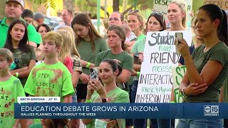 Education debate grows in Arizona YouTube Videos