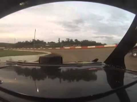 Batesville Motor Speedway. B Feature in car. 6-21-14