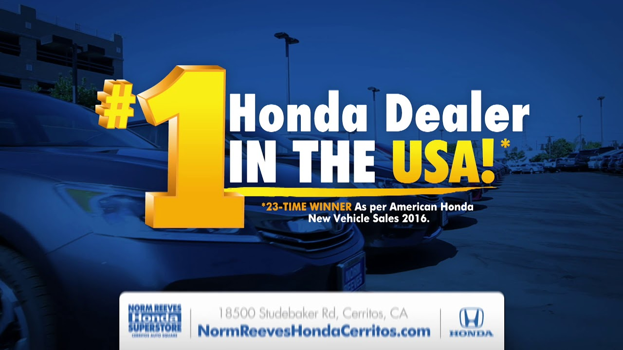 Norm Reeves Honda Cerritos Clean Sweep