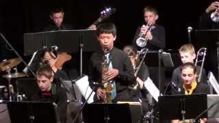 2015 Monterey Next Generation Jazz Festival - Sutter Middle School Jazz Band