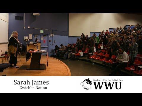 Sarah James Speaking at WWU - Full
