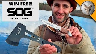 Win Coyote's SOG Axe and Pocket Knife!