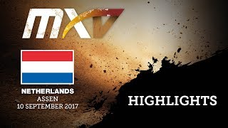 vmx race1 highlights mxgp of netherlands 2017