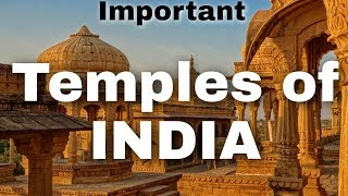 Temples of India - Places and Temples