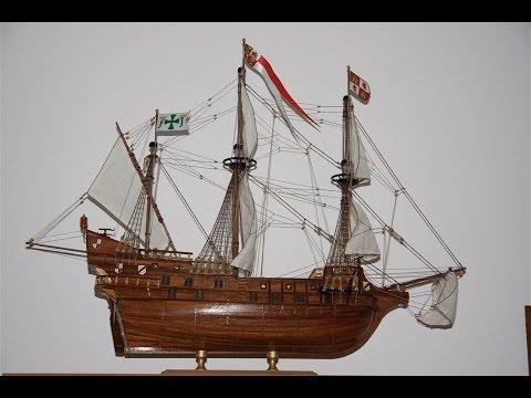 Model ship Construction - San Francisco II Galleon Spanish  S XVI