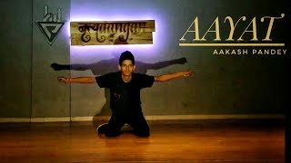 Aayat Song | Dance | By Aakash Pandey | Nrityaaangan Dance Studio |