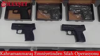 EMNİYET'TEN SİLAH OPERASYONU