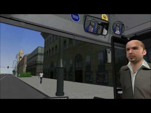 Omsi 2 MAN Lion City NL223 auf der Map München Beta
