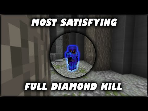 Most Satisfying Full Diamond Kill EVER In Hypixel UHC (Minecraft Highlights)