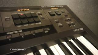 Synthesizer Demo (8) - Roland VR-09/  Strings, Bass, Drums, SFX Sounds