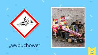 Oznaczenia substancji niebezpiecznych – Przyroda, Klasa IV - Eduelo.pl