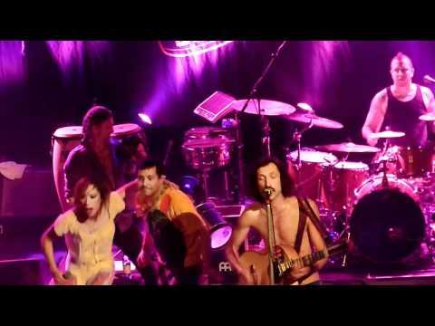 Gogol Bordello - Trans-Continental Hustle, live @ the Olympia, Dublin, March 15 2011