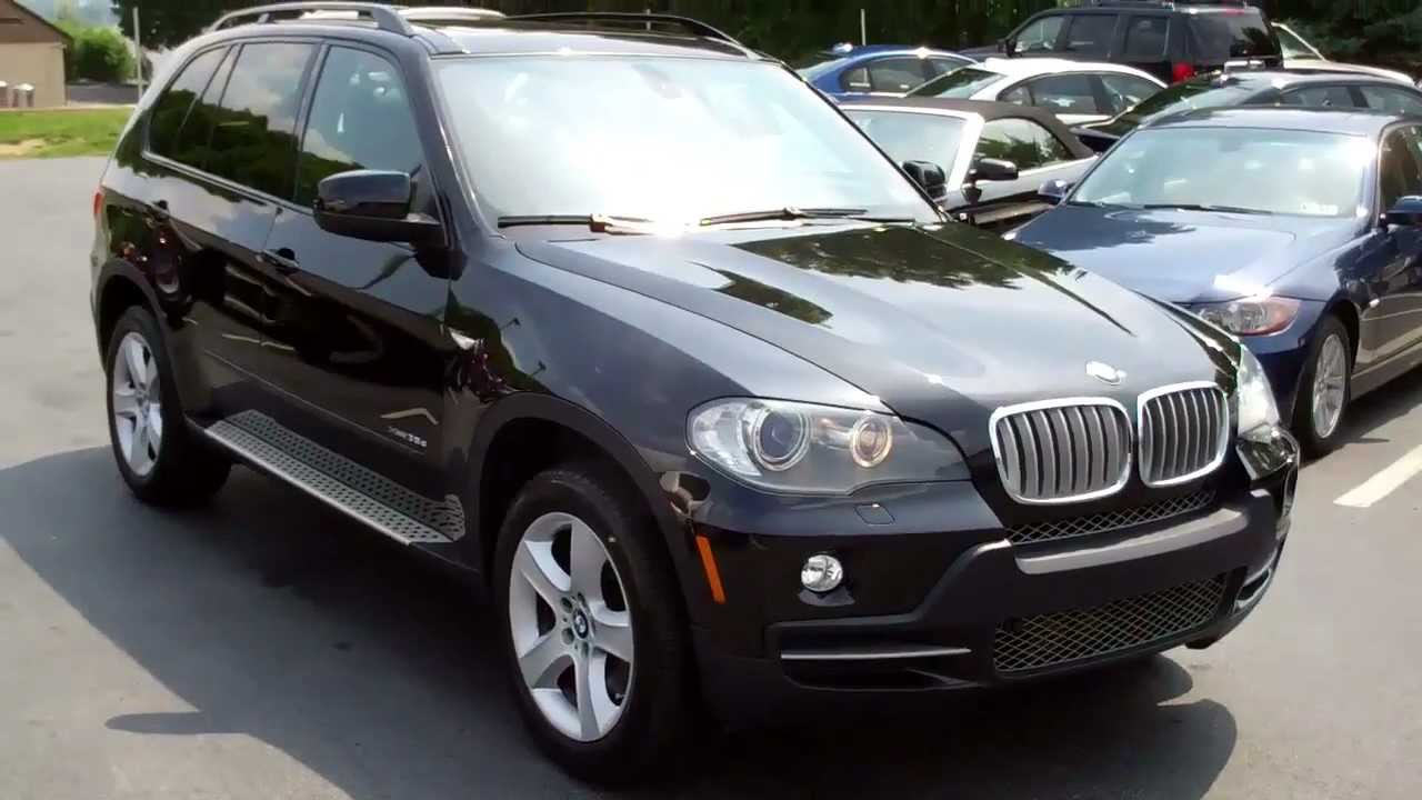 2009 bmw x5 xdrive35d sport diesel awd @ manheim imports - youtube