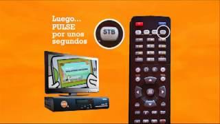 Apaga y enciende tu Tv y decodificador con el control remoto de UNIVISA