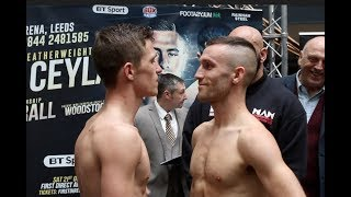 REECE MOULD v COLIN O'DONOVAN - OFFICIAL WEIGH IN VIDEO (LEEDS) / EDGE OF GLORY