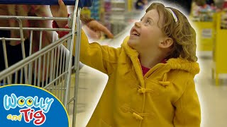 Woolly and Tig - Going To The Supermarket | TV Show for Kids | Toy Spider