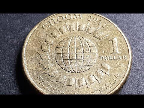 Australia 2011 CHOGM $1 Coin