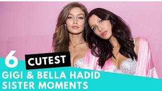 Top 6 Cutest Gigi & Bella Hadid Sister Moments! | Hollywire