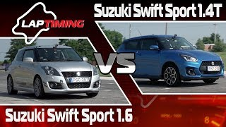 Sportolnak a Swiftek. Suzuki Swift Sport 1.6 vs. Suzuki Swift Sport 1.4T (LapTiming ep. 84)