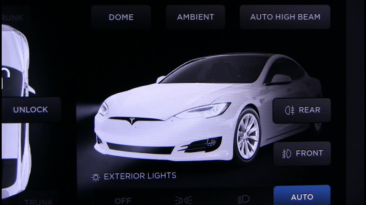Tesla led headlights