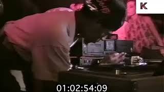 1988 Acid House DJ Mixing, RiP at Clink, London 1980s