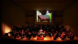 """【映像付コンサート】トムとジェリー「ピアノ・コンサート」Tom and Jerry """"Cat Concerto"""""""