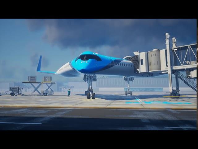 FLYING-V - El el prototipo del futuro de KLM y TU Delft levanta vuelo