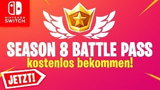 🔴 Season 8 Battle Pass GET FREE NOW & 14th Earthquake RISS | Fortnite Switch