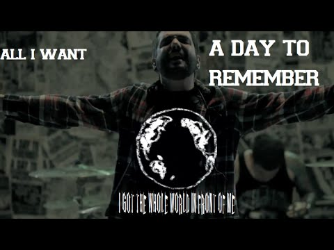 A day to Remember - All i want (Guitar Backing Track Cover ... A Day To Remember All I Want Album Cover