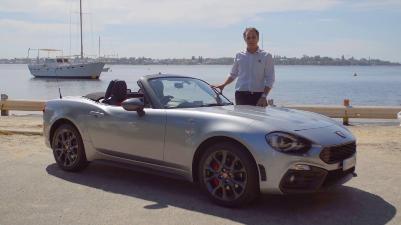 2017 Abarth 124 Spider Review - YouTube