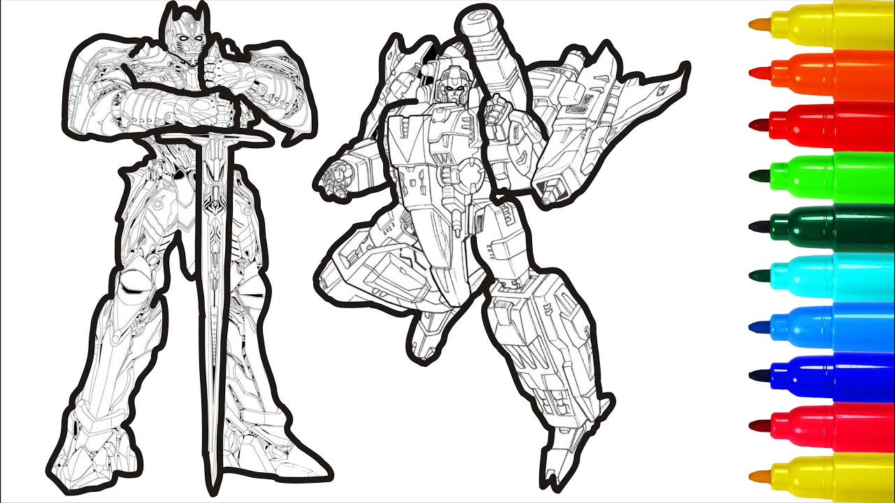 Transformers Force Of Impact Coloring Pages