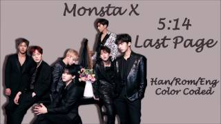 Video Monsta X (몬스타엑스) - 5:14 Last Page Color Coded Lyrics [Han/Rom/Eng] download MP3, 3GP, MP4, WEBM, AVI, FLV Maret 2018