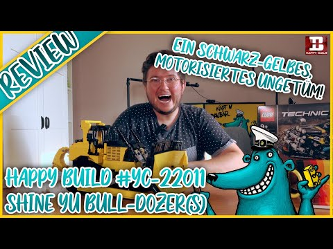 Happy Build YC-22011 Bulldozer: Funktioniert und kostet keine 450 Euro